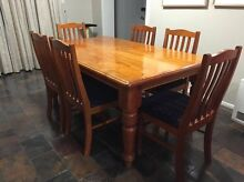 Windsor 7 Piece Dining Table Cherrybrook Hornsby Area Preview