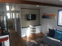 Holiday unit, 50ft houseboat, Forster Tuncurry on wharf mooring Elizabeth Beach Great Lakes Area Preview
