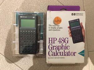 HP-48G Graphic Calculator | Hewlett Packard w/ 32K RAM / Padded Case Bondi Junction Eastern Suburbs Preview