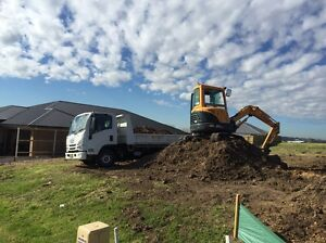 Tipper truck and excavator for hire East Maitland Maitland Area Preview