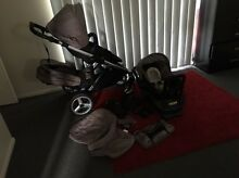 Strider compact double pram & capsule Morayfield Caboolture Area Preview