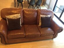 Moran 3 seater leather lounge West Perth Perth City Preview