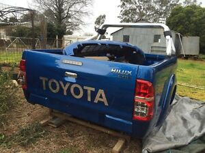2011 Hilux SR5 Extra Cab Tub, Roll Bar and Front Spoiler Temora Temora Area Preview