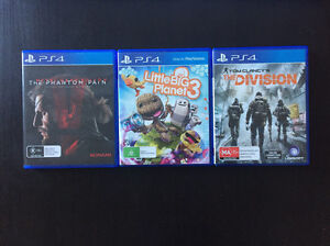 PS4 games and 2 x brand new wireless controller Burwood Heights Burwood Area Preview
