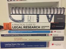 Law1111 & Law1112 textbooks $25-$120 neg Varsity Lakes Gold Coast South Preview