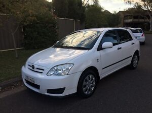 2005 Toyota Corolla ascent McGraths Hill Hawkesbury Area Preview