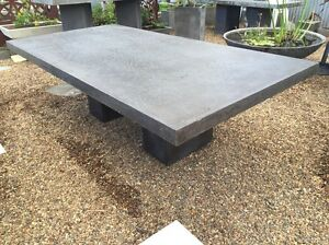 Outdoor concrete table  free shipping Dulwich Hill Marrickville Area Preview