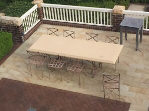 Outdoor dining table and chairs Neutral Bay North Sydney Area Preview
