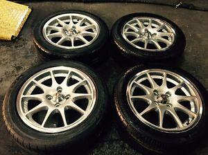 15 inch rims&tyres %80tread 4x100 Dandenong Greater Dandenong Preview