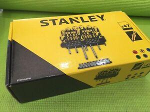 47pc Stanley Screwdriving & Socket Set with Rack Slot Brunswick East Moreland Area Preview