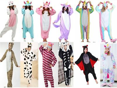 Girls Ladies Unicorn Mermaid Onesie Skeleton Bat pikachu cheshire cat Pokemon