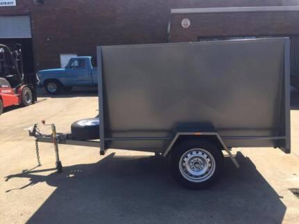 7x4 Van Trailer