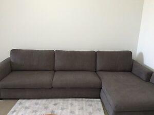 Sofa Chaise Lounge For Quick Sale Turrella Rockdale Area Preview