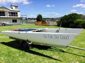 Mosquito catamaran sailing dinghy Forth Central Coast Preview