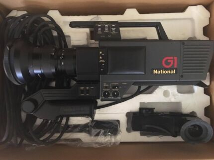 Vintage - National Video Camera WVP-GIN A, PLUS Production Mixer