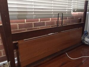 Queen sized timber bed frame Westmead Parramatta Area Preview