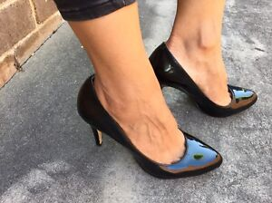 SIREN LEATHER PATENT SHOES Sz7 $35 Arncliffe Rockdale Area Preview