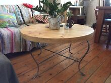 Reclaimed indoor/ outdoor plywood coffee table Tempe Marrickville Area Preview