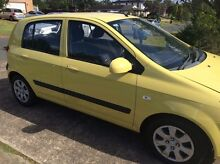 2008 Hyundai Getz Hatchback St Clair Penrith Area Preview
