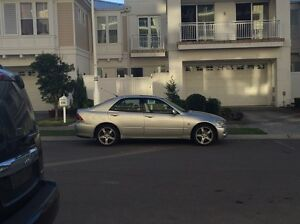Lexus is200 manual 2003 Hunters Hill Hunters Hill Area Preview