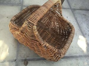 Cane basket Woollahra Eastern Suburbs Preview