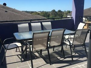 8 SEATER OUTDOOR DINING SETTING Waitara Hornsby Area Preview