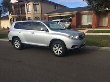 2012 Toyota Kluger KX-R Auto 2WD 5 Seats Coolaroo Hume Area Preview