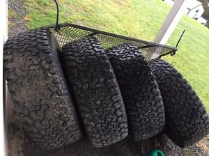 """4x 17"""" rims with 35"""" bfg all terrains. -13 rims. Beaconsfield Cardinia Area Preview"""