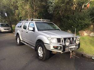 2007 Nissan Navara Ute (with free extended warranty) Merewether Newcastle Area Preview
