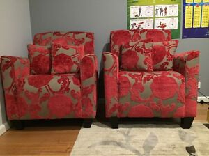 2 X Plush armchairs Ringwood East Maroondah Area Preview