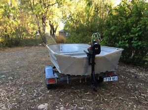 """11.6"""" tinnie with outboard Busselton Busselton Area Preview"""