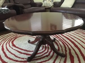 Cedar Coffee table Denistone East Ryde Area Preview