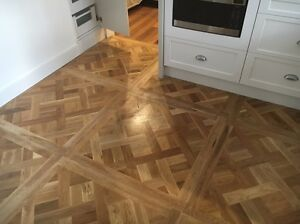 Large oak parquetry floor panels X 12 ($150 EACH) Church Point Pittwater Area Preview