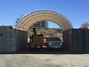 2 sea containers, some shelter and off the grid solar North Fremantle Fremantle Area Preview