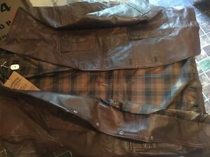 Brown leather jacket Homebush Strathfield Area Preview