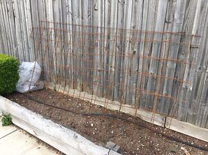 Concrete reinforcement steel. 3 pieces Hillside Melton Area Preview
