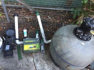 Salt water chlorinator filter and pump Southport Gold Coast City Preview