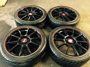 17 inch rims& tyres 4x100 Dandenong Greater Dandenong Preview