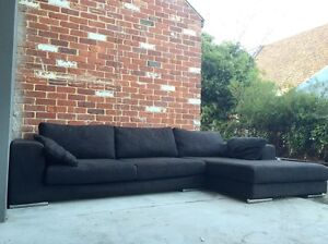 3 seater comfy couch with chaise for sale Subiaco Subiaco Area Preview