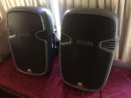 JBL EON 315's PA Speakers
