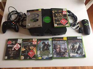 XBOX Original with 7 games including Collectors Halo 2 Everard Park Unley Area Preview