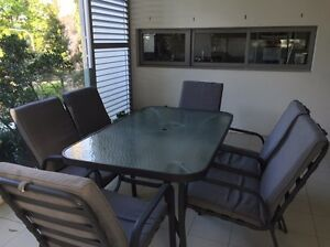 Outdoor dining table and chairs set Gordon Ku-ring-gai Area Preview