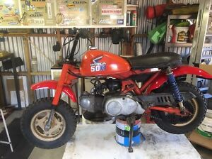 Honda Z50R Norwood Area Preview