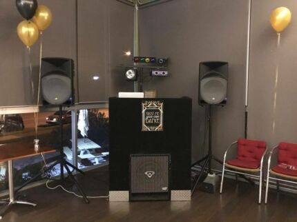 Experienced and very professional DJ hire.