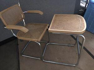 Wicker chair and table Bendigo Bendigo City Preview