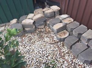 Garden / Retaining Wall Blocks - Charcoal Bidwill Blacktown Area Preview
