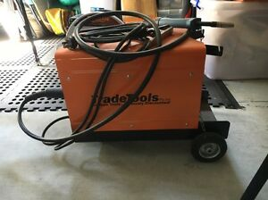Trade tools 180GG mig welder and cut off saw Banyo Brisbane North East Preview