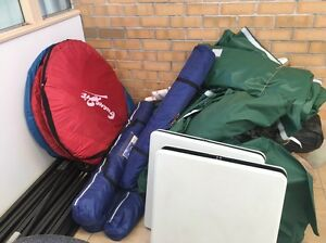 Lots of camping staffs for sale/ tent, foldable table, ropes, etc. Brisbane City Brisbane North West Preview