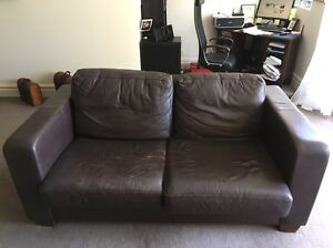 Two seater sofa and single seater Mosman Mosman Area Preview
