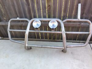 Tradesman roof rack / under box and bull bar Warriewood Pittwater Area Preview